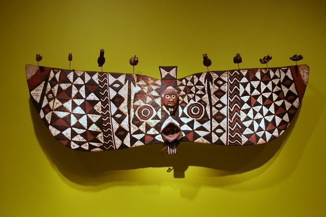 Mask, Nuna peoples, Burkina Faso, Mid-20th century, Wood, pigment, metal par cliff1066, via Flickr