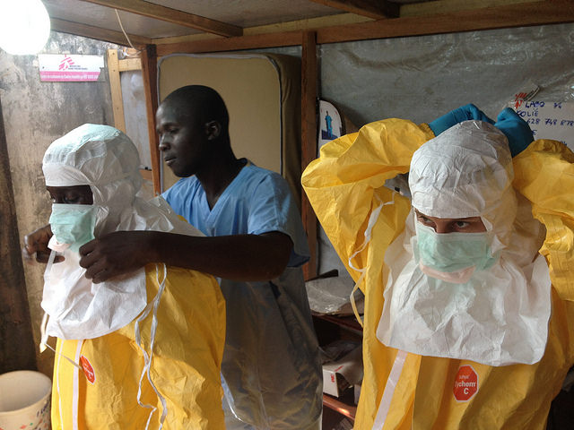 Ebola in Guinea, par EU Humanitarian Aid and Civil Protection via Flickr CC