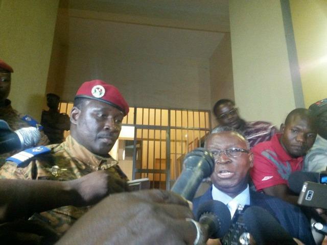 Lieutenant-Colonel Yacouba Isaac ZIDA /Crédit photo : Amelie GUE